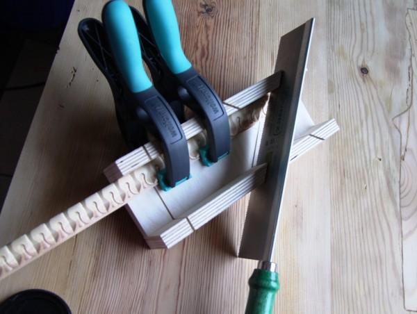 Holzleisten zuschneiden