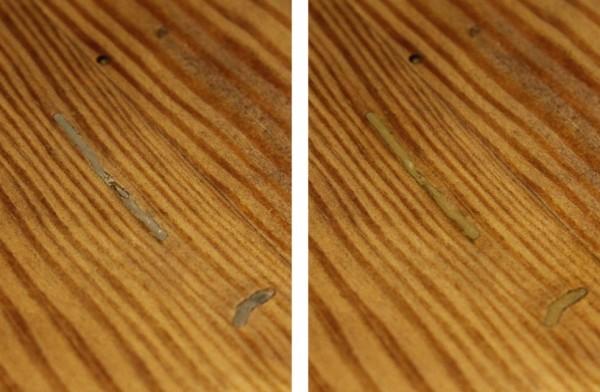 Holzspachtel vs Wachs