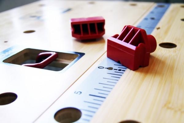 Arbeitstisch Bosch PWB 600 Detail
