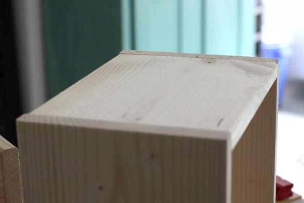 Holzverbindung mit Flachdübel