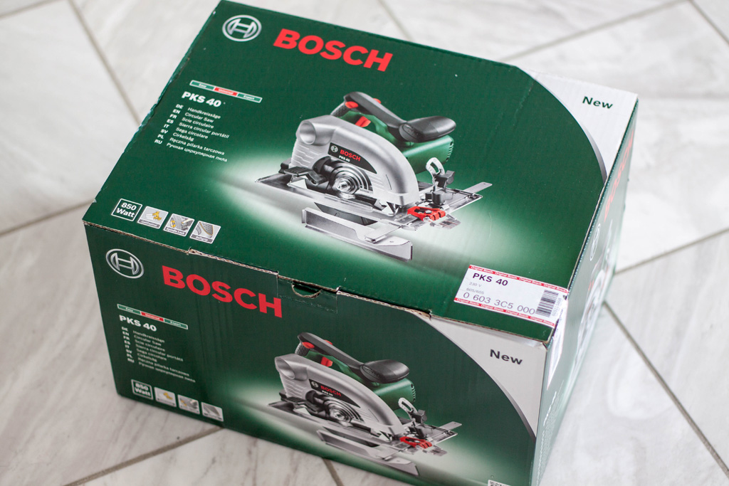 Bosch Handkreissäge PSK 40